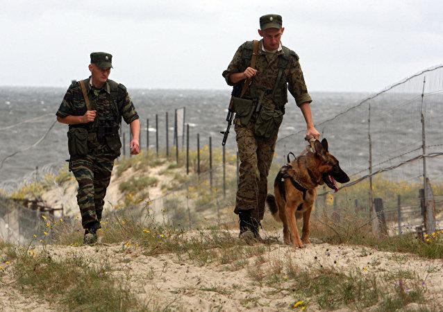Ruští pohraničníci