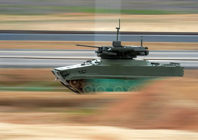 Robotický tank Udar