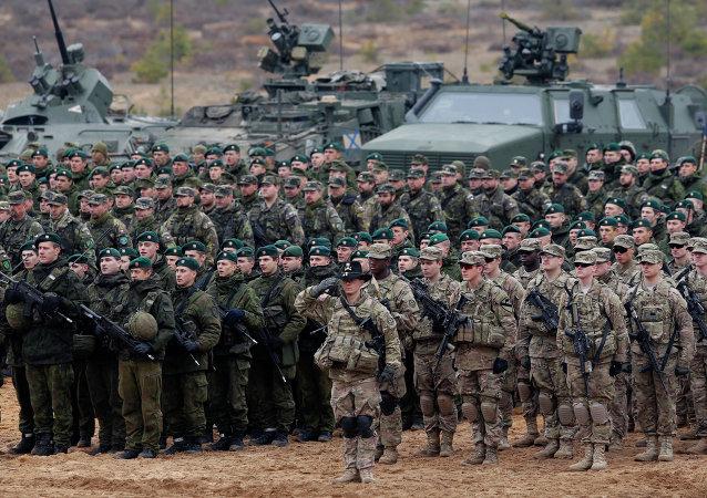 Cvičení NATO v Litvě