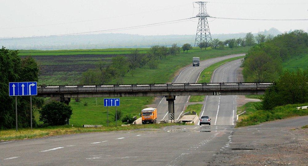 Silnice směrem k Oděse