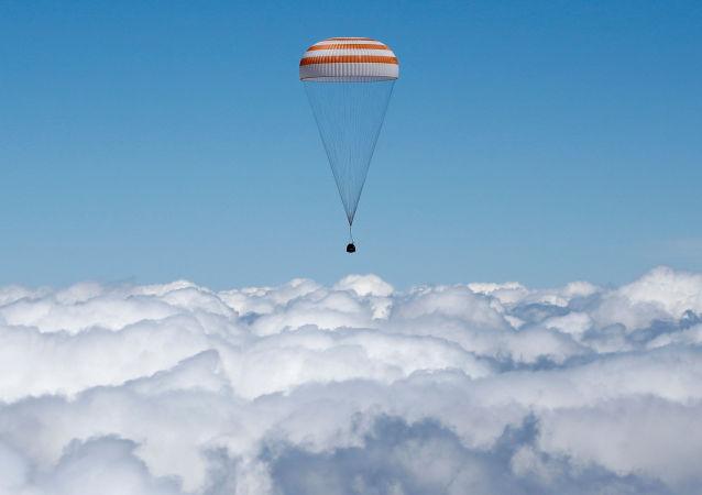 Přistávací kapsule lodi Sojuz TMA-11M