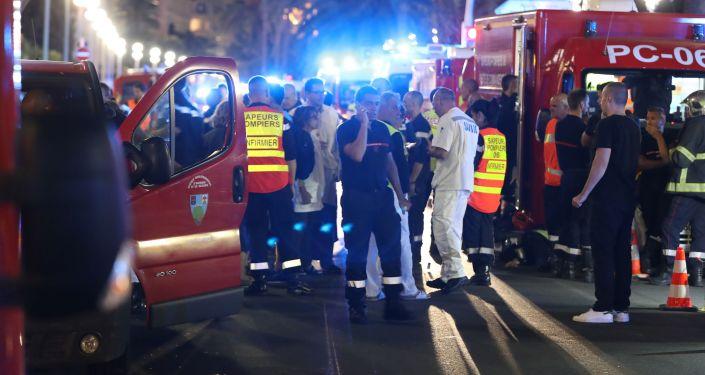 Terroristický útok v Nice.