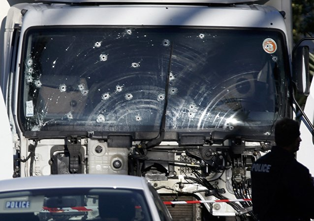 Náklaďák teroristy v Nice