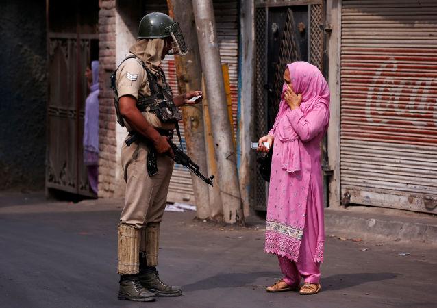 Indický policista