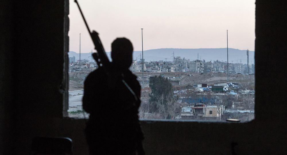 Situace v Damašku