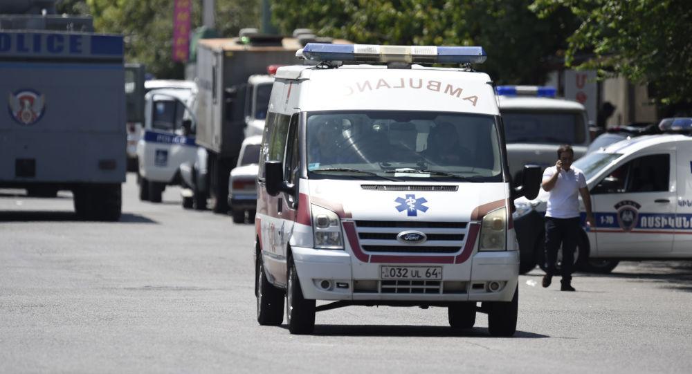 Obsazení policejní budovy v Jerevanu