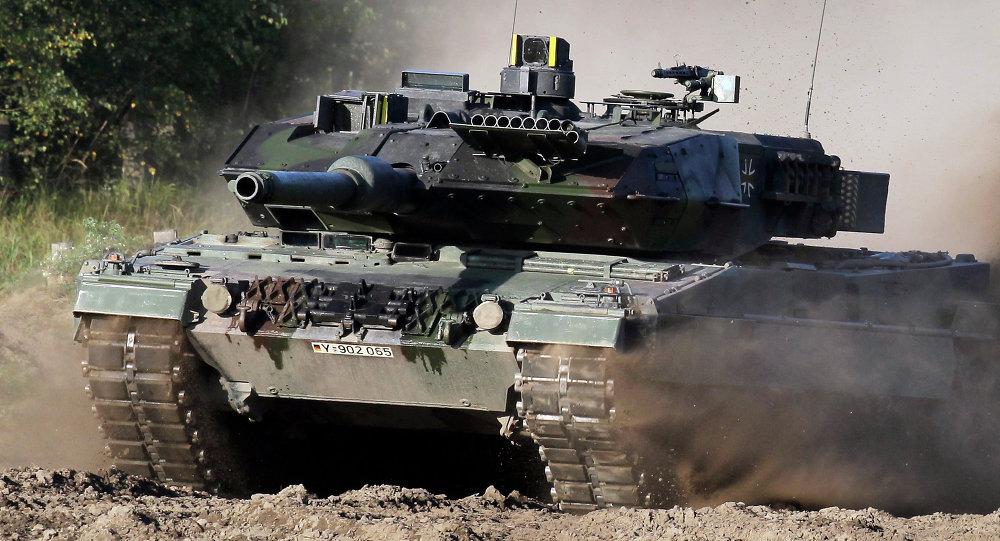 Tank Leopard. Ilustrační foto
