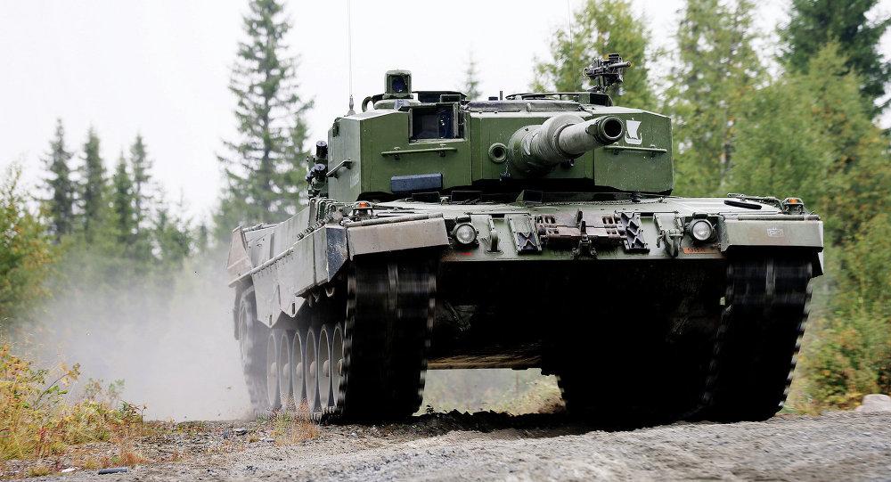 Tank Leopard 2 A4