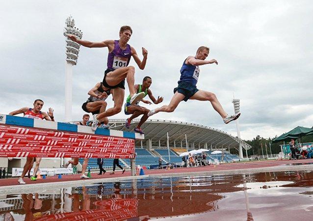 Ruští atleti