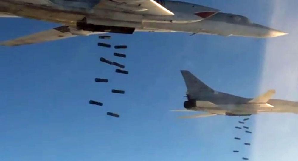 Ruské bombardéry Tu-22M3 zaútočily na objekty IS v Sýrii
