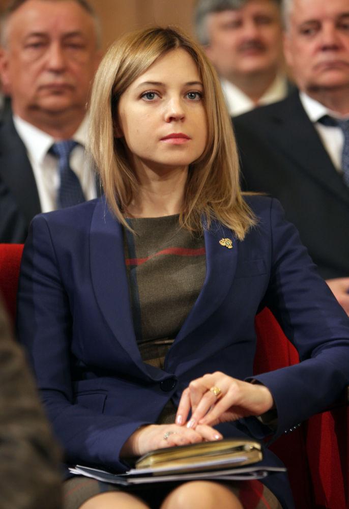 Natalja Poklonskja, ženská i přísná