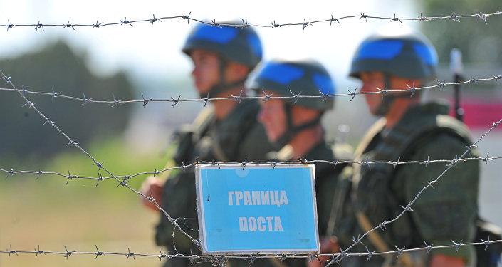 Ruští vojáci v Podněstří
