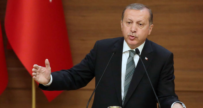 Prezident Turecka Tayyip Erdogan