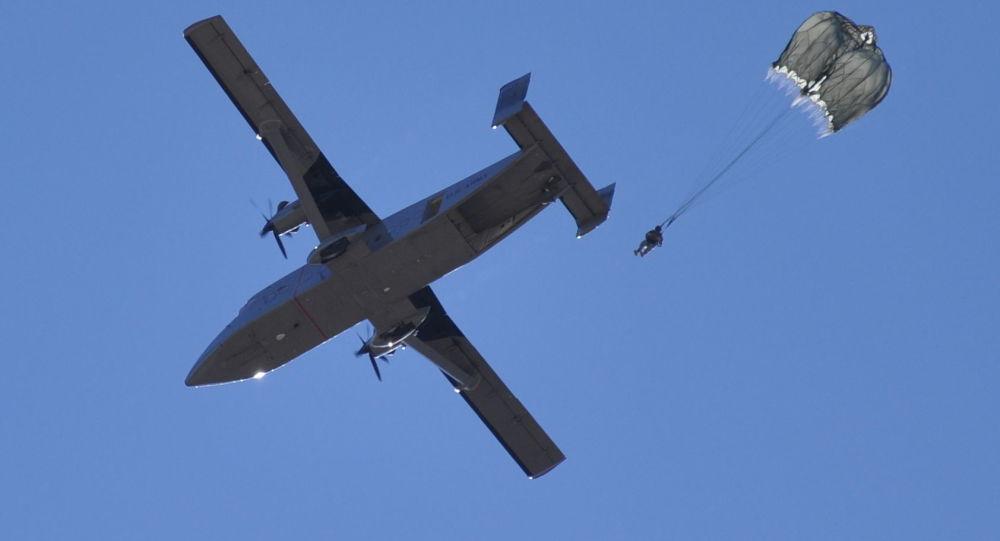 Vojenské letadlo Sherpa С-23B+