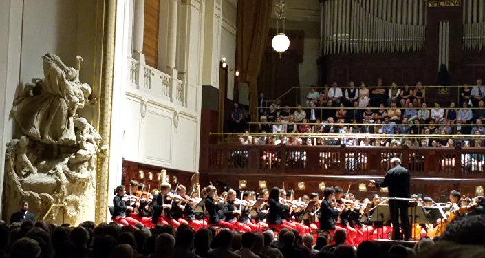 Gergiev & orchestr Carnegie Hall - NYO-USA v Praze
