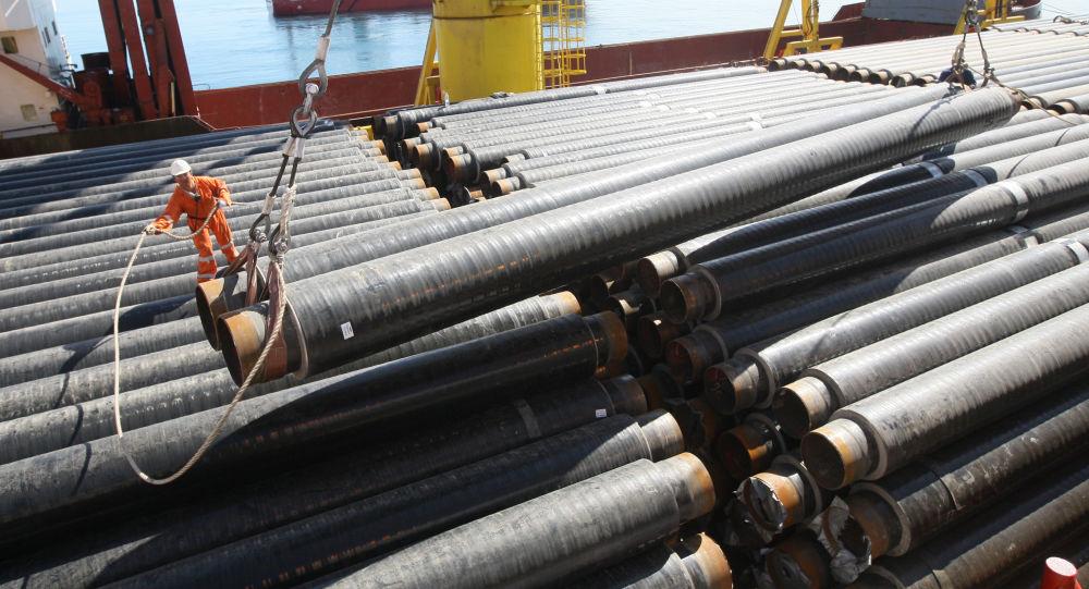 Stavba plynovodu v Černém moři