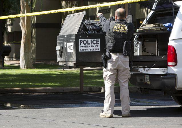 Policista v Texasu (ilustrační fotografie)