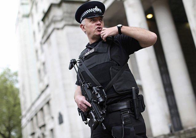 Britský policista