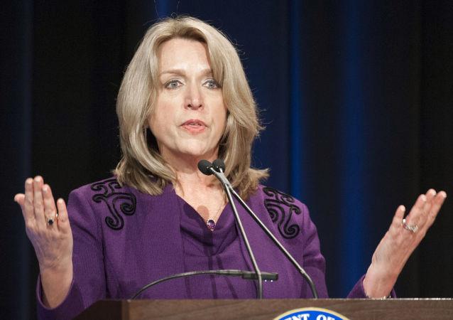 Americká ministryně válečného letectva Deborah Lee Jamesová