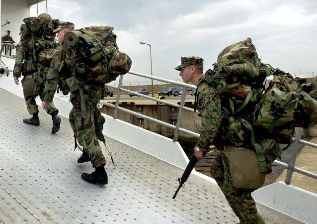 Vojáci USA na Okinawě