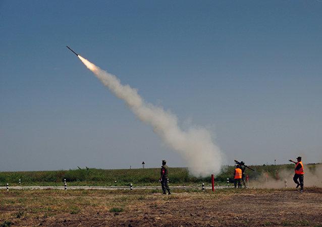 Protiletadlový raketový komplet Igla
