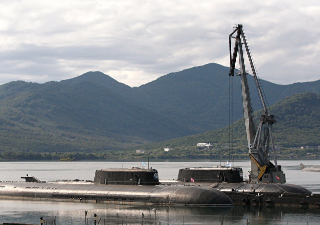 Atomové ponorky Čeljabinsk a Omsk