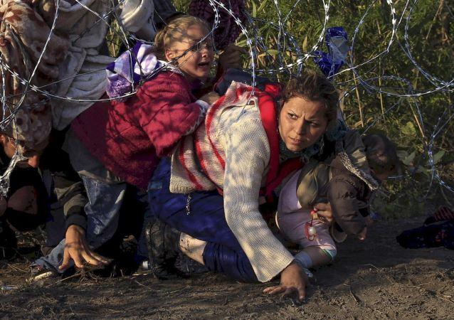 Migranti. Ilustrační foto