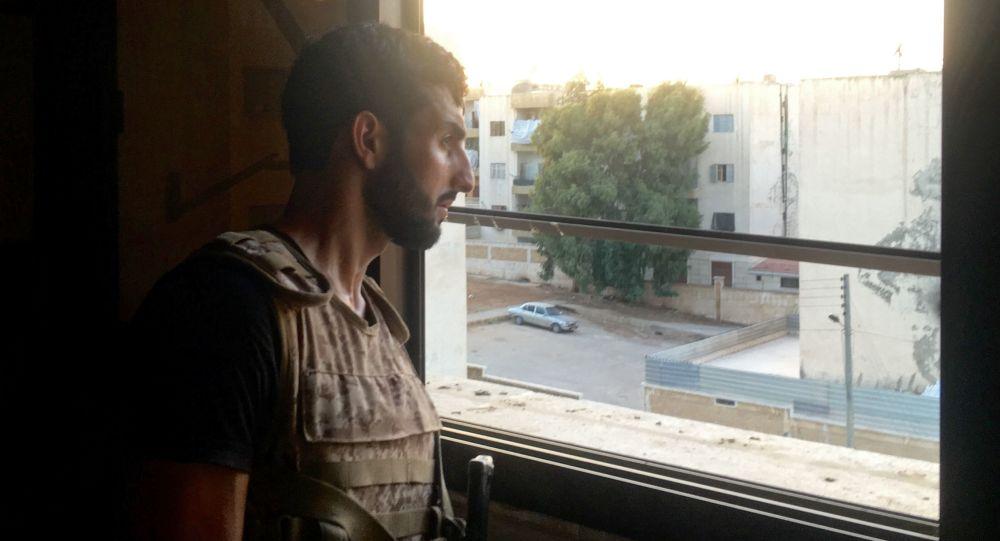 Ostřelování civilních obyvatel v západním Aleppu