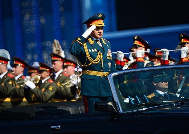 Ministr obrany Ruska Sergej Šojgu