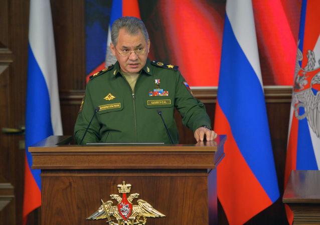 Ruský ministr obrany Sergej Šojgu