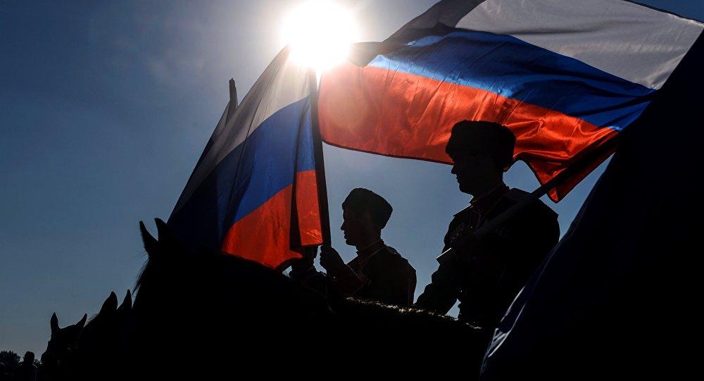 Ruské vlajky