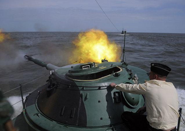 Cvičení Kaspické flotily