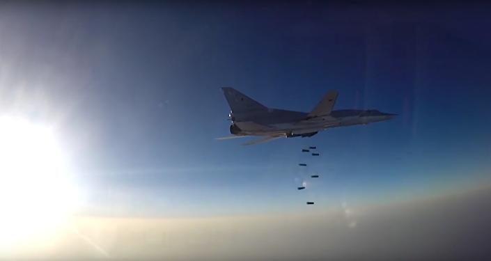 Ministerstvo obrany RF zveřejnilo video prvního bojového startu ze základny v Íránu