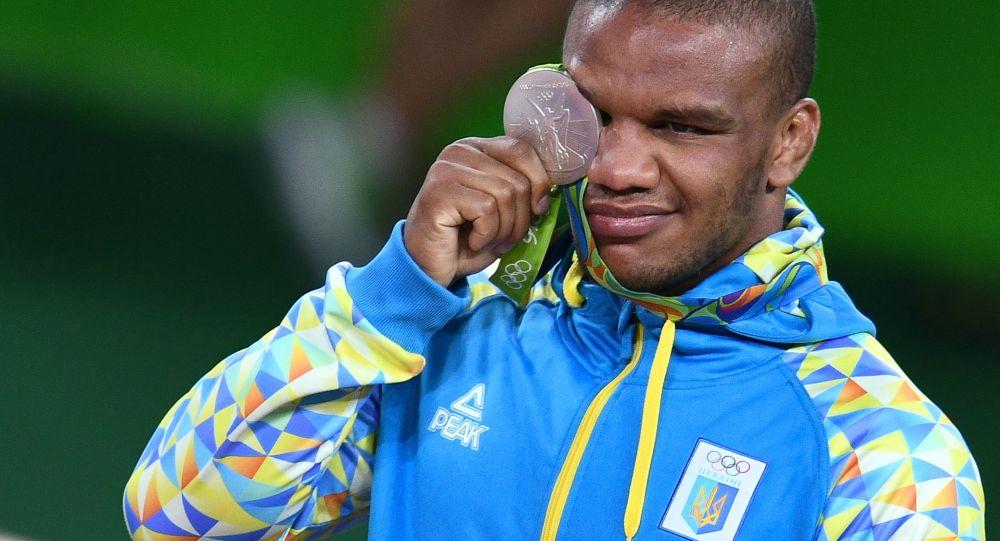Ukrajinský zápasník Žan Beleňuk