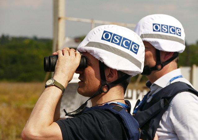 Příslušníci mise OBSE