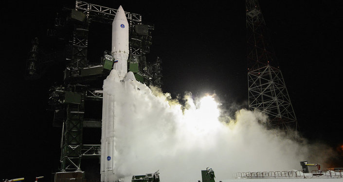 Start rakety Angara A5