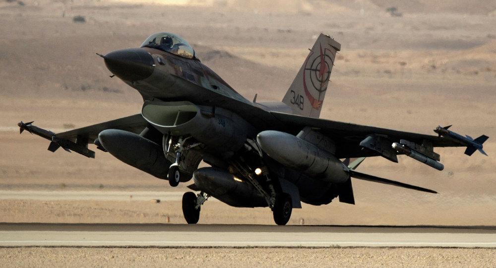 Izraelská stíhačka F-16