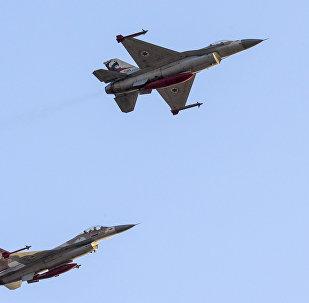 Izraelské stíhačky F-16