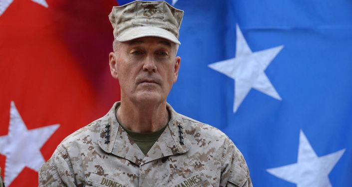 Předseda Spojeného výboru náčelníků štábů ozbrojených sil USA, generál Joseph Dunford.