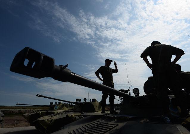 Soutěž vyzbrojených výsadkových vojsk (ilustrační foto)