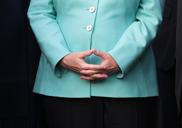 Ruce Angely Merkelové