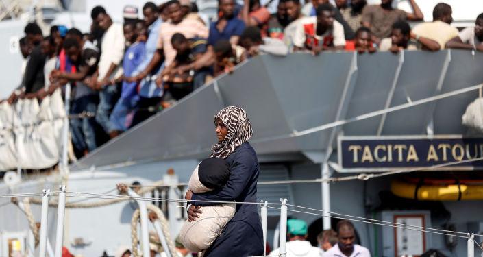 Migranti v jižní Itálii