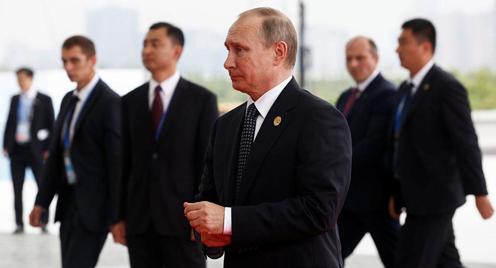 Ruský prezident Vladimir Putin během návštěvy G20