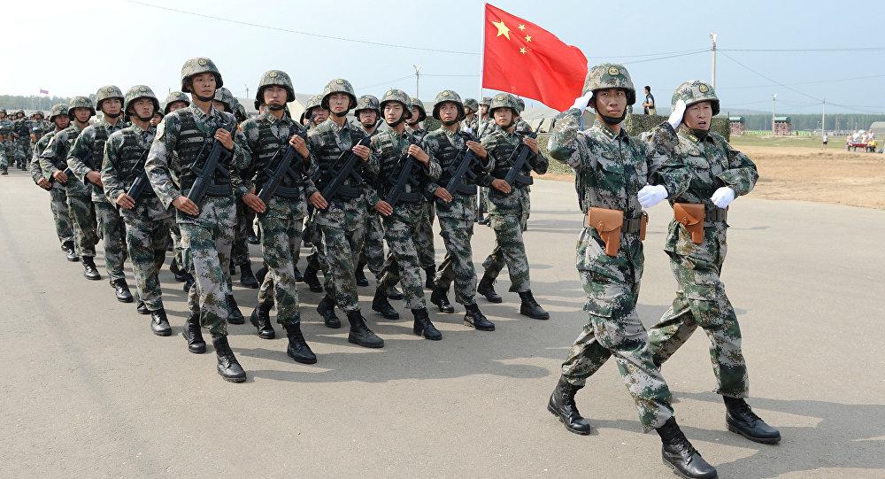 Vojenské cvičení Ruska a Číny
