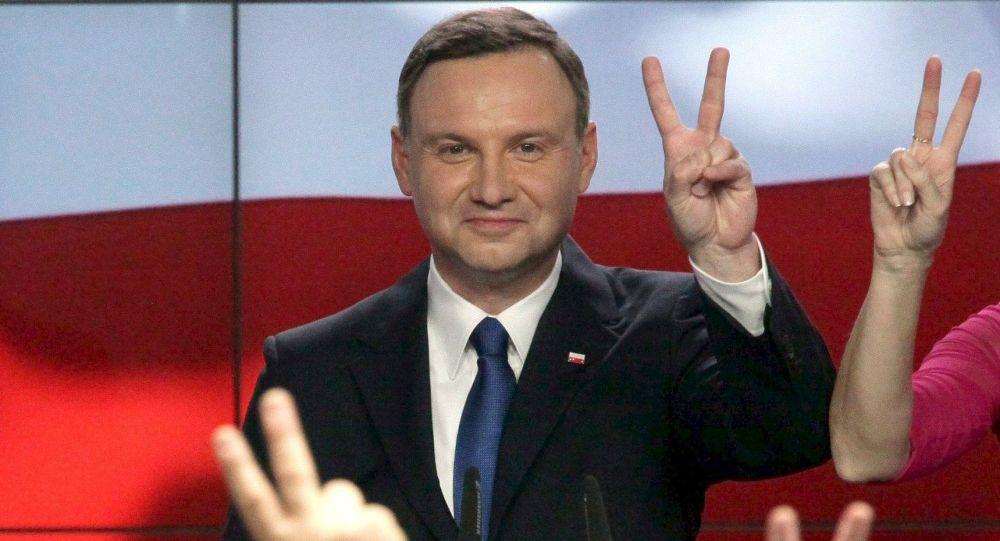 Polský prezidentský kandidát Andrzej Duda