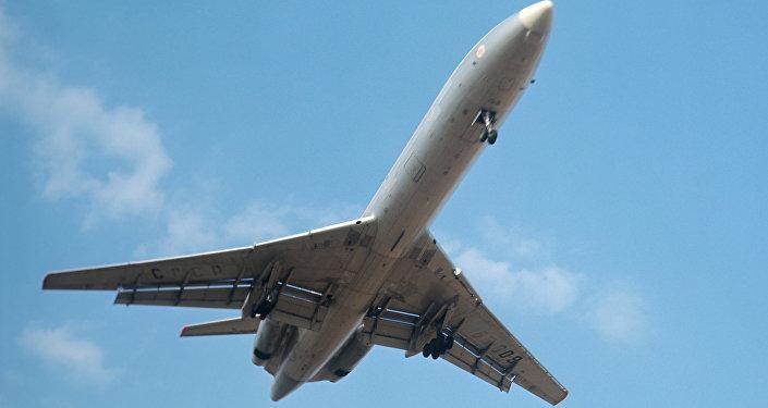 Советский пассажирский самолет ТУ-154