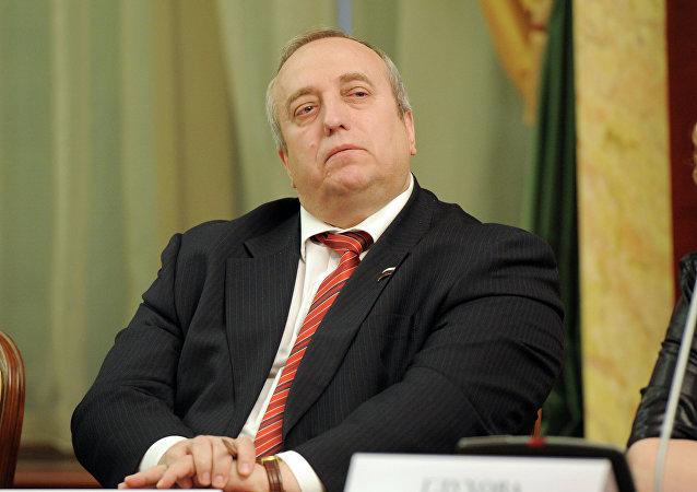 První místopředseda výboru Rady federace pro obranu a bezpečnost Franc Klincevič