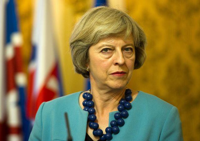 Ministerská předsedkyně Velké Británie Theresa Mayová