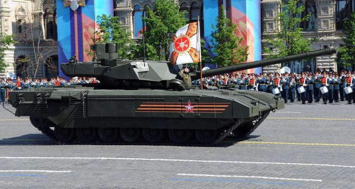 Nejmodernější ruský tank T-14 Armata