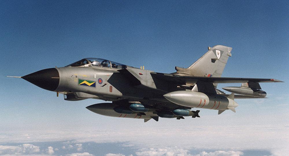Britský bombardér Tornado